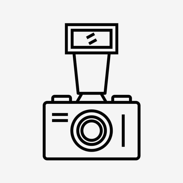 Old Camera Line Black Icon Camera Icons Line Icons Black Icons Png And Vector With Transparent Background For Free Download In 2020 Old Camera Camera Icon Line Icon