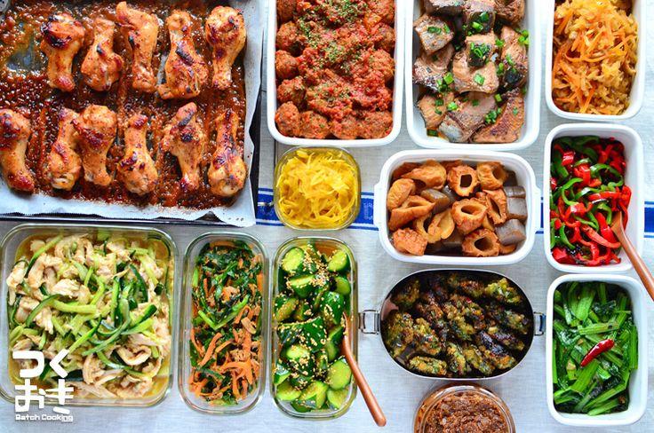 2015年4月第1週めの作り置き。調理時間150分で12品。使った食材から作ったおかず、1週間作り置きレシピを紹介します。