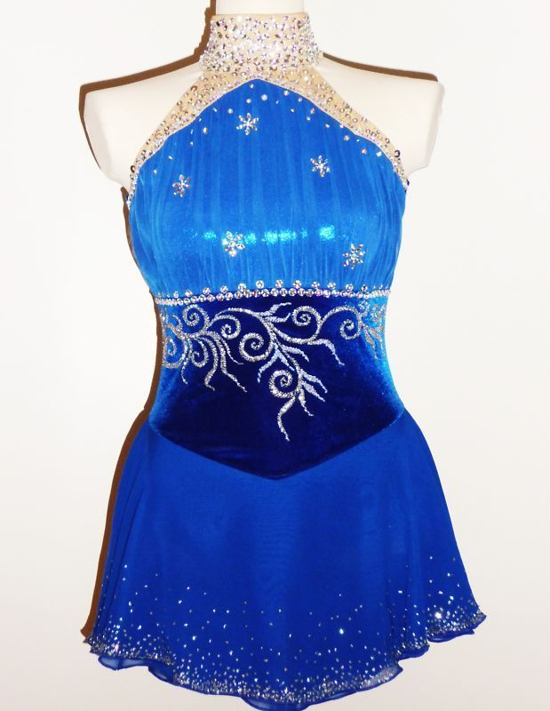 CUSTOM MADE TO FIT FIGURE ICE SKATING /BATON TWIRLING COSTUME | Sporting Goods, Winter Sports, Ice Skating | eBay!