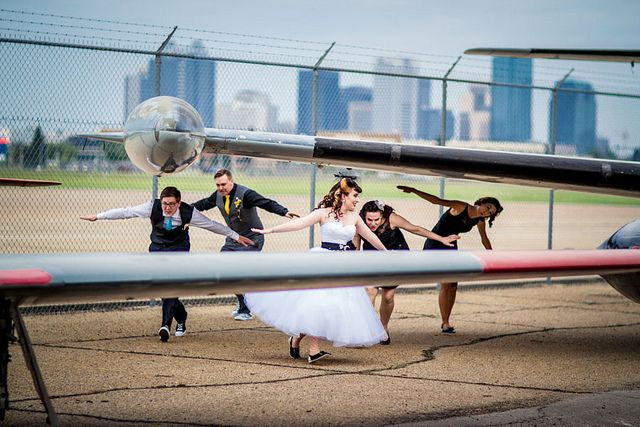 WEDDING AT AN AVIATION MUSEUM! 506-Bethany-Shawn-4833 by RakishLass, via Flickr