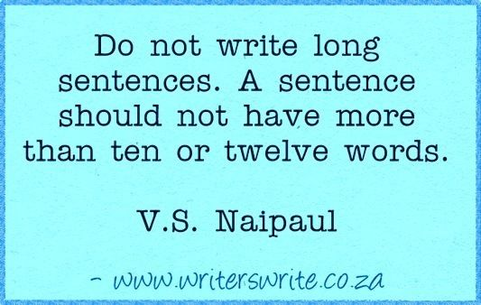 Quotable - V.S. Naipaul -