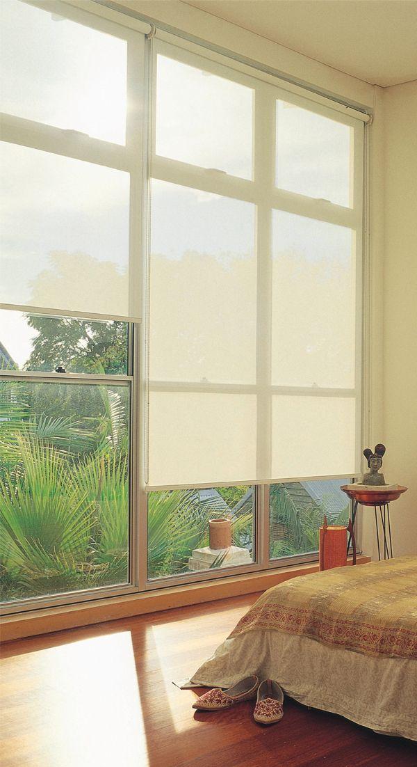 Enrollable En Screen Roman Shade Curtain Home Curtains