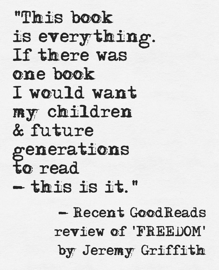 Jeremy Griffith's 2016 book 'FREEDOM: The End Of The Human Condition' https://www.goodreads.com/book/show/27305883-freedom