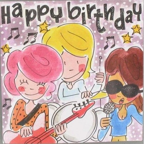 Happy Birthday (muziekband)- Blond Amsterdam