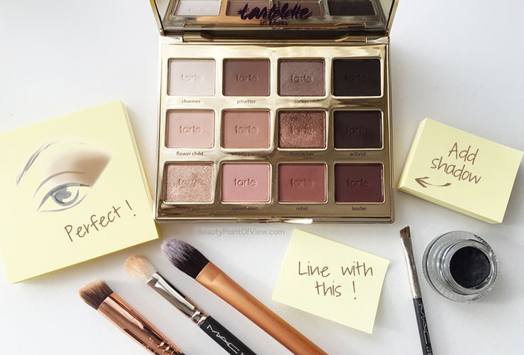 Post Its to create flawless eye makeup looks. Tips and tricks now on the blog! #beauty #makeup #makeuptips