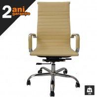 Cu un design modern, extrem de atragator, acest scaun birou se va integra perfect intr-un interior cu accente la fel de moderne, usor non-conformiste.