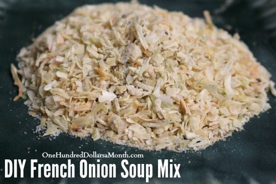Although I totally love soup and think you should use this fabulous mix recipe to make some killer French Onion Soup, you should also know it's awesome to have on hand to use when seasoning hamburgers or roasts or casseroles. No need to run out to the...