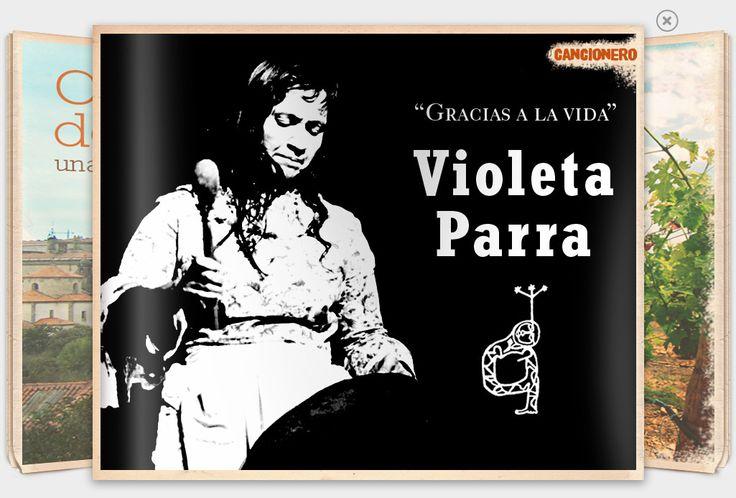 Violeta Parra. Te invitamos a conocer algunas de las canciones latinoamericanas más célebres…