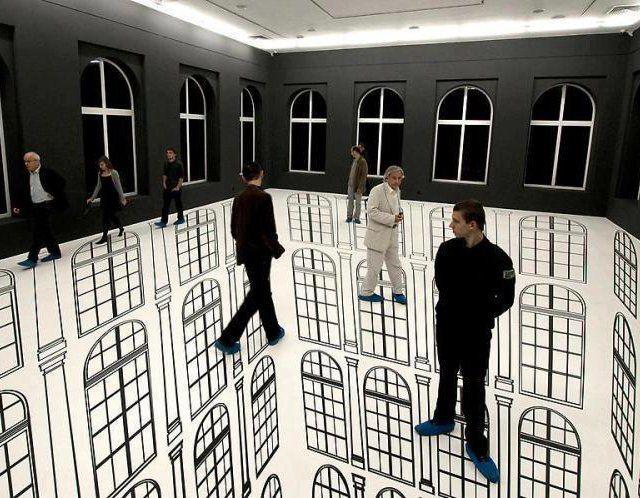 Exhibit... Illusion artist, Regina Silveira...: Optical Illusions, Floors, Street Art, 3D Art, Illusion Art, Design