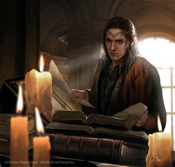 The Library of Imladris (Fantasy Flight Games - Middle Earth Enterprises)