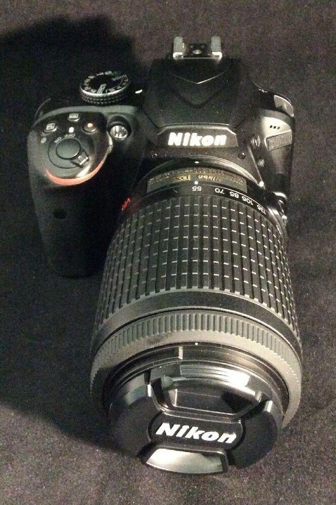 Nikon D3400 Apsc Dslr Camera W Batteries Charger Ebay Dslr Camera Digital Camera Used Cameras