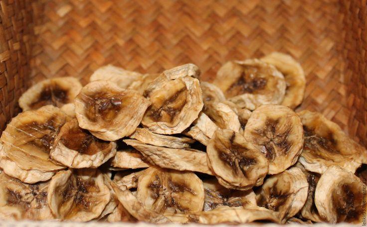Купить Банановые чипсы - бежевый, банан, новороссийск, чипсы банана, сухофрукты, дары природы, бананы