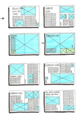 Great layout ideas - layout ideas for centennial newsletter or fellows publications