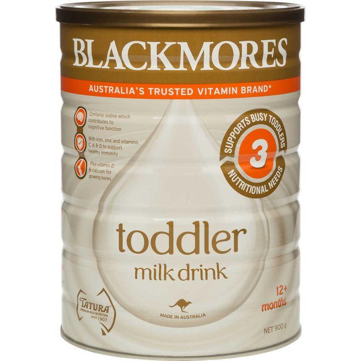 BLACKMORES TODDLER MILK DRINK 3 12 MONTHS 900G APTAMIL KARICARE PEDIASURE