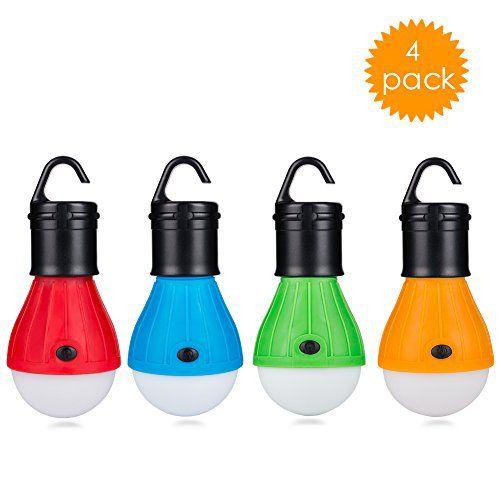Eletorot Lanterne de camping LED Lanterne Lampe led Torche ultra lumineuse lumière d'urgence Lanterne ampoule COB150 Lumens lampe portable…