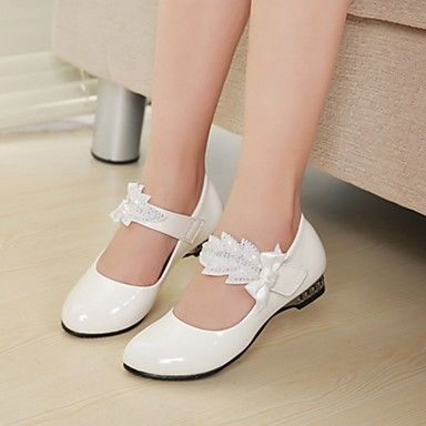 Girl's Shoes Heels Chunky Heel Faux Leather Pumps/Heels Shoes More Colors available – USD $ 24.99