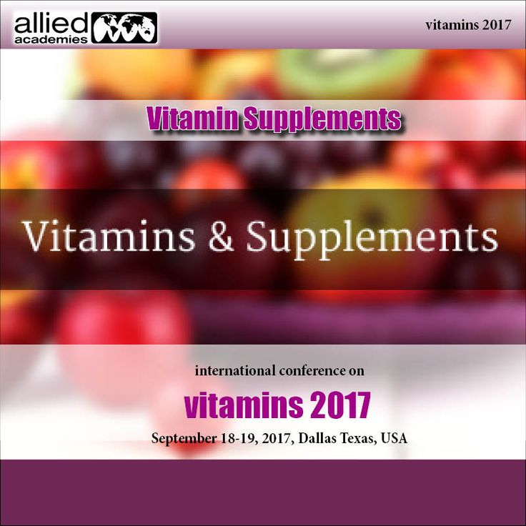 """The human body needs vitamins. This can't be debated. Vitamins are basic """"for ordinary development and working."""