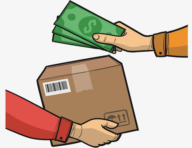 Hand In Hand Vector Png Express Delivery Cash On Delivery Png