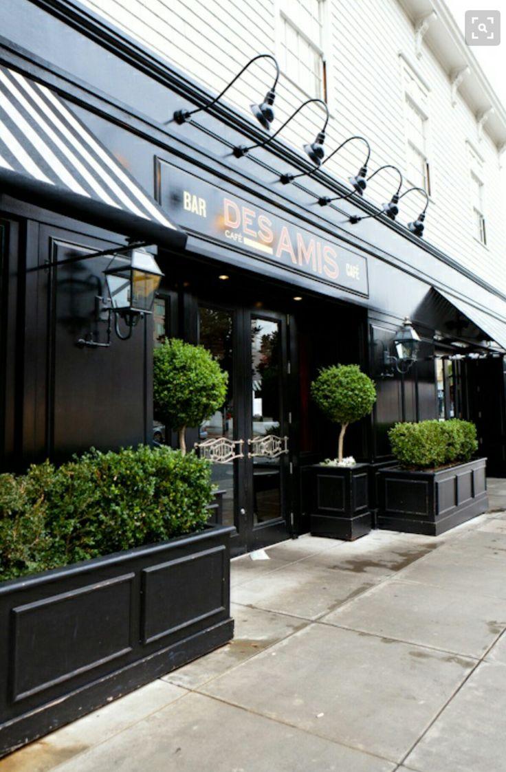 5608 best storefronts images on pinterest restaurants for Exterior restaurant design