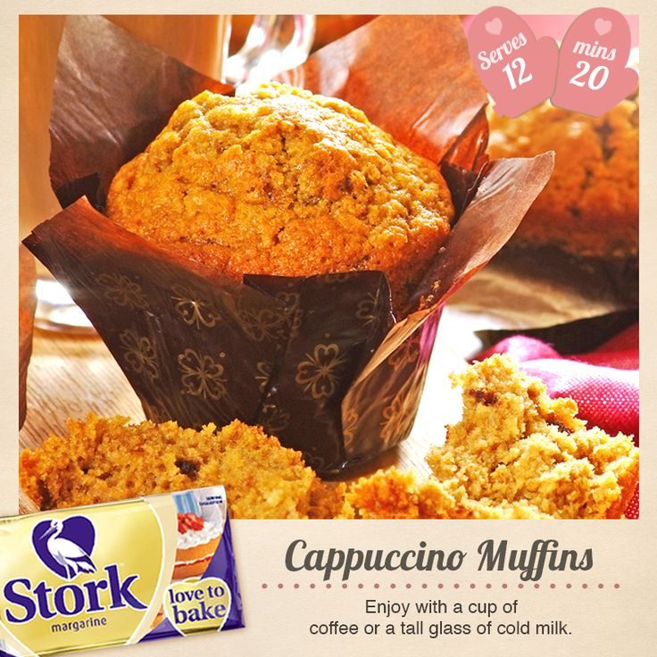 The most scrumptious Cappuccino Muffins you will ever try. Why not use our tried and tested recipe?