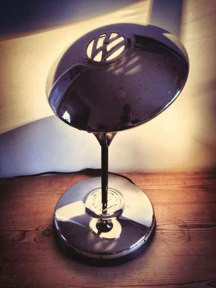 VW hubcamp lamp for those of us VW-obsessed