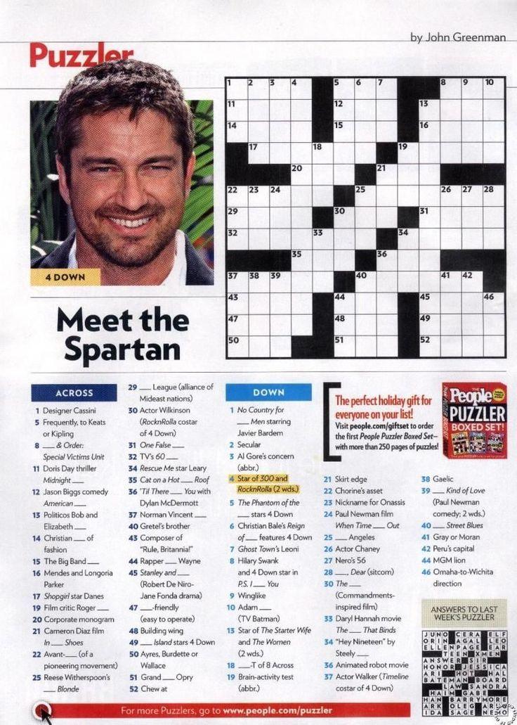 People Magazine Crossword Puzzles People Magazine Crossword Puzzles The Kennedys People Magazin In 2020 Printable Crossword Puzzles Crossword Puzzles Crossword