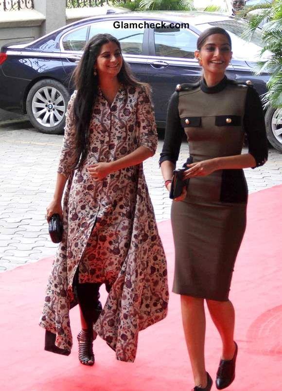 Sonam Kapoor Style: Bollywood Celeb Style: Sonam Kapoor wearing Victoria Bekham.