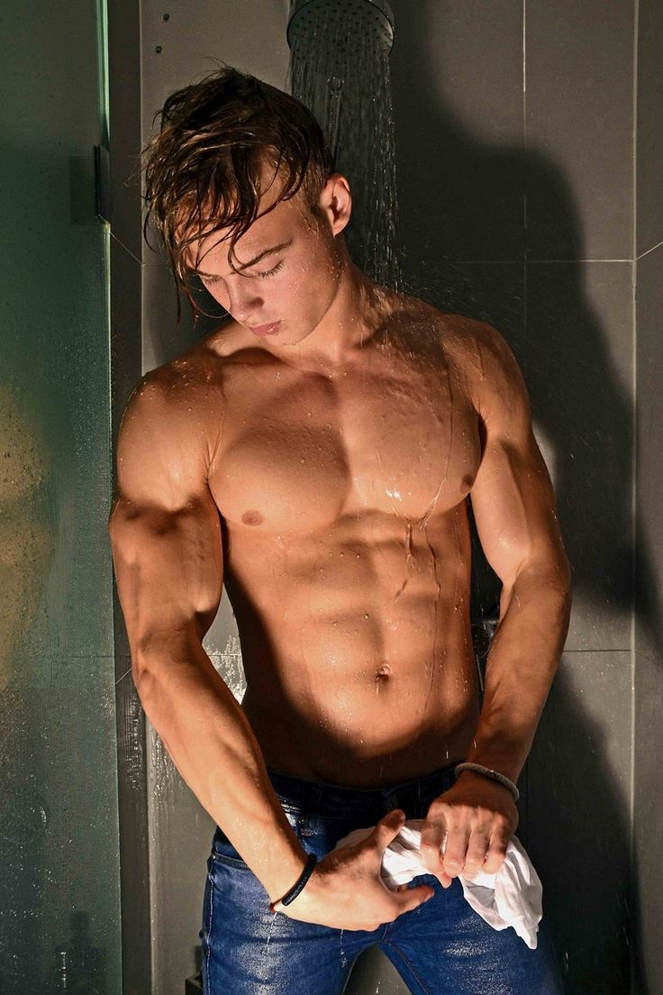 Pin on naked, hung, muscular hot