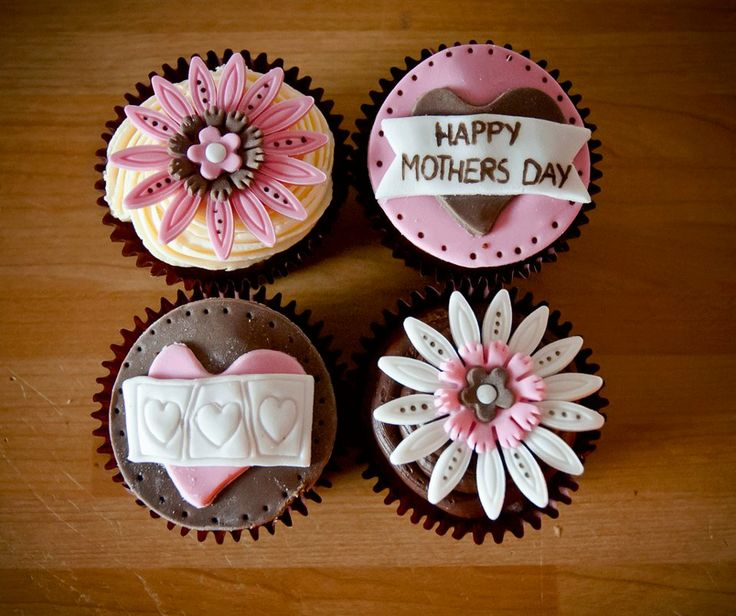 20 best images about mother 39 s day cupcakes on pinterest happy mothers day cake central and. Black Bedroom Furniture Sets. Home Design Ideas