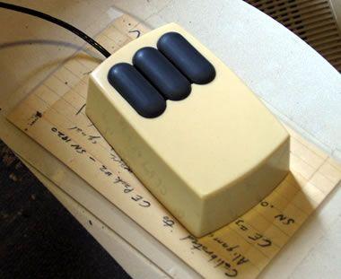 Xerox Alto Mouse, 1973