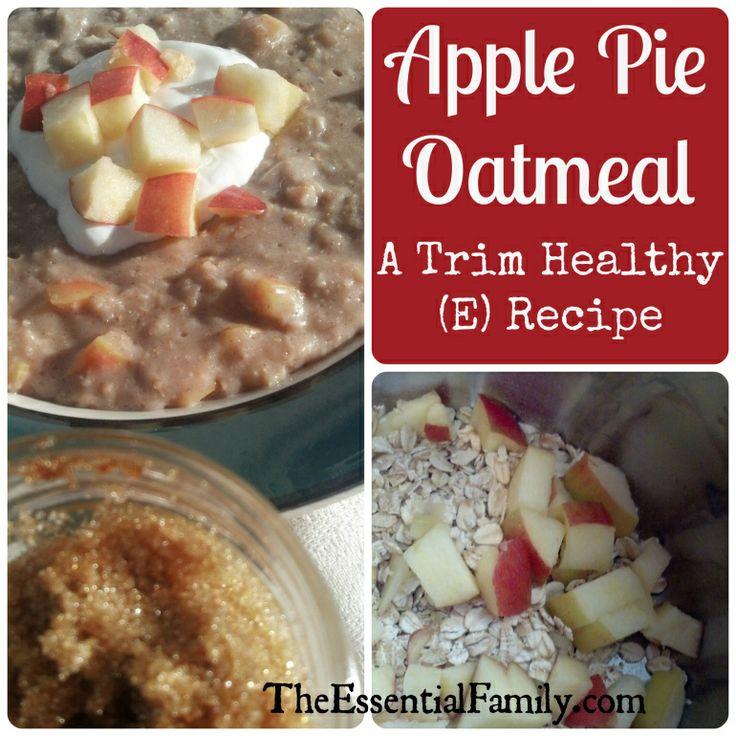 Apple Pie Oatmeal (E)