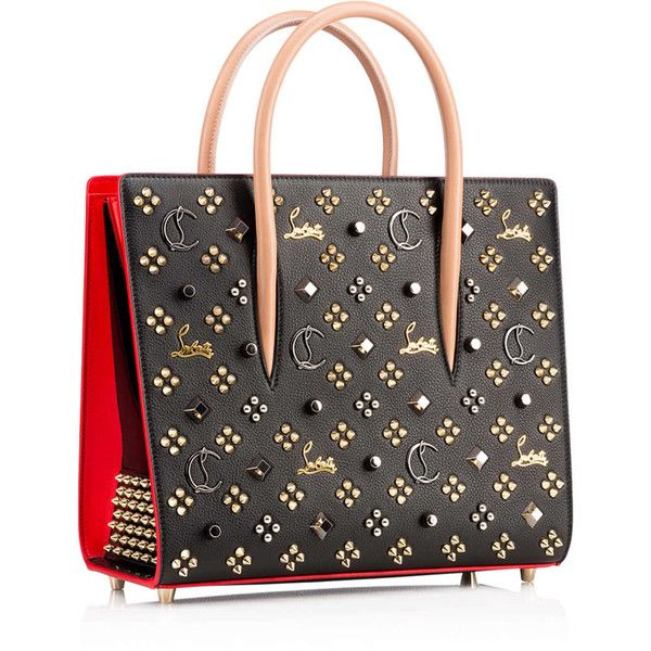 Women's Designer Totes Bags - Christian Louboutin Online Boutique (45,160 MXN) ❤ liked on Polyvore featuring bags, handbags, tote bags, christian louboutin, christian louboutin purse, tote handbags, christian louboutin handbags and tote bag purse