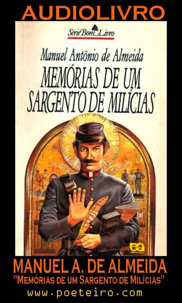 """AUDIOLIVRO: """"Memórias de um Sargento de Milícias"""", de Manuel Antônio de ..."""