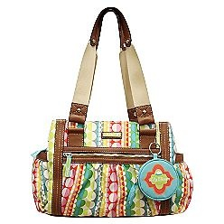 Lily Bloom handbags made from recycled plastic.