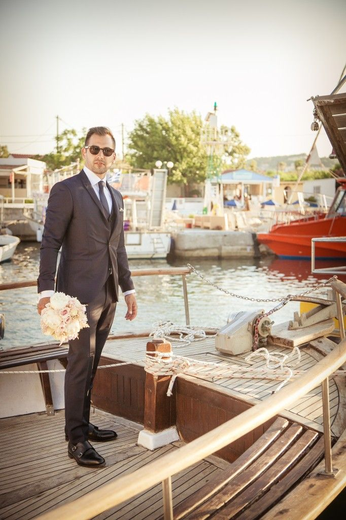#DestinationWeddingRhodes #GoldenAppleWeddings  #Weddings in #Rhodes #Groom