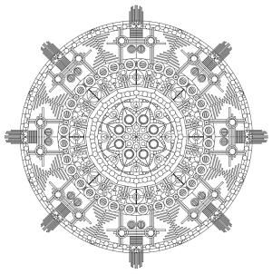 Relax While You Create With These Free Mandala Coloring Pages: Coloring Castle's Free Mandala Coloring Pages