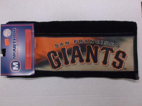 San Francisco Giants Golf Towel by McArthur. $15.00
