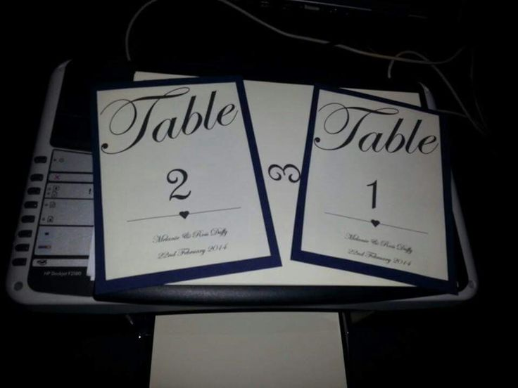 Why spend a lot on table plans etc I made mine myself got 100 sheets of blue card for 1 pound and cream card for 1 pound. Much cheaper and enjoyable