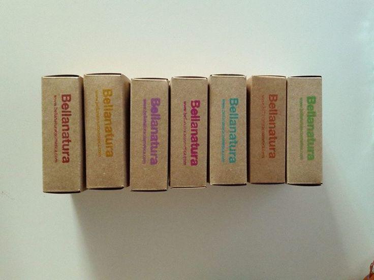 Packaging Soaps. Bellanatura.