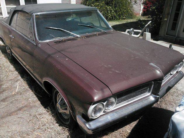 Package Deal 1964 Pontiac Lemans Convertible And A Boat Pontiac