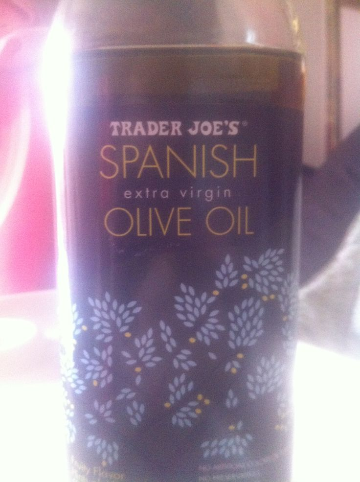Spanish Olive oil that is better & healthier than Italian...only Trader Joe