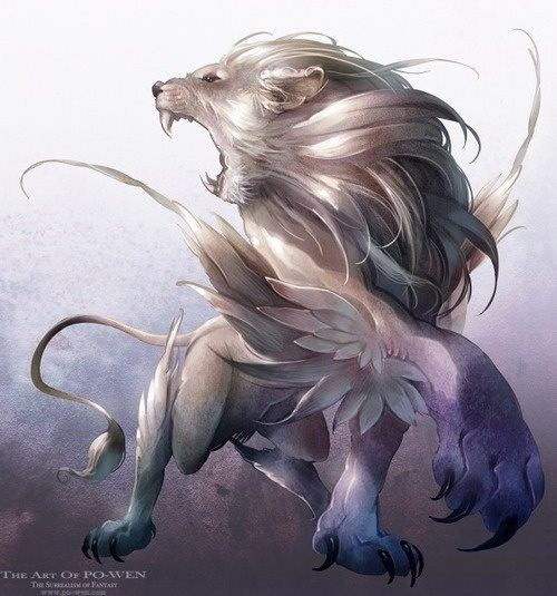 Fantasy lion - photo#25