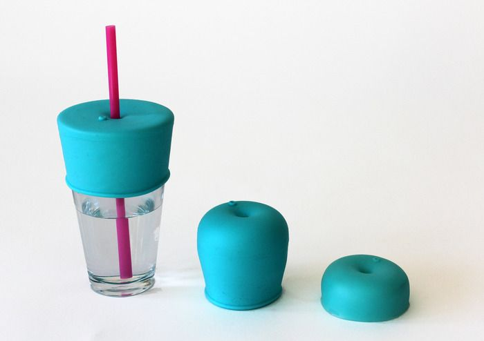 Ditch all those plastic sippy cups and make your own drinking cups for kids using any glass you've got with SipSnap lids. Why didn't we think of this! @Tracy Stewart