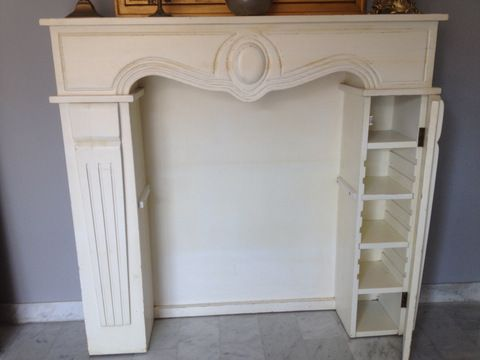 хочу обновить декоративный камин, но так, чтобы состарить :) я могу его покрасить просто в белый, а вот состарить не умею... или и так сойдет? ;)