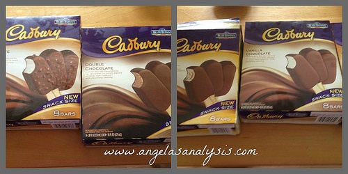 Cadbury Ice Cream Bars 'High Tea' Party (Ice cream tea party, great for National Ice Cream Month) @AngelasAnalysis