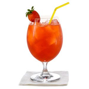 This is for all you minors like me. This Strawberry Lemonade looks so delish for the summer. You can even add some alcohol to it if you're legal. I bet it would still taste wonderful :)