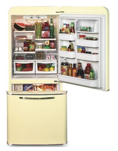 1950 Northstar Refrigerator Interior Detail Home