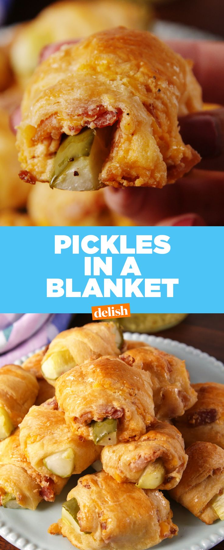 Pickles In A Blanket