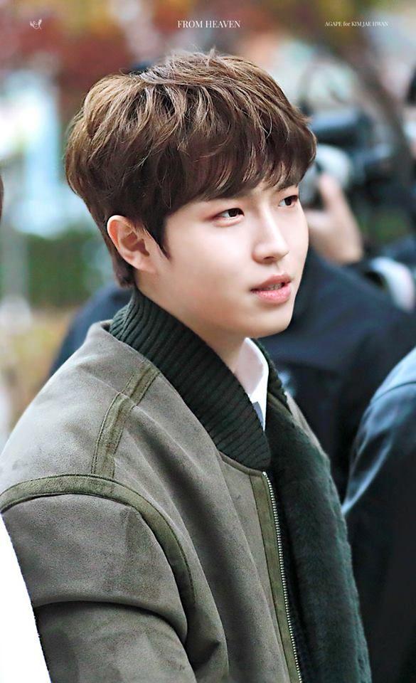 171117 - Kim Jaehwan at KBS (Music Bank)