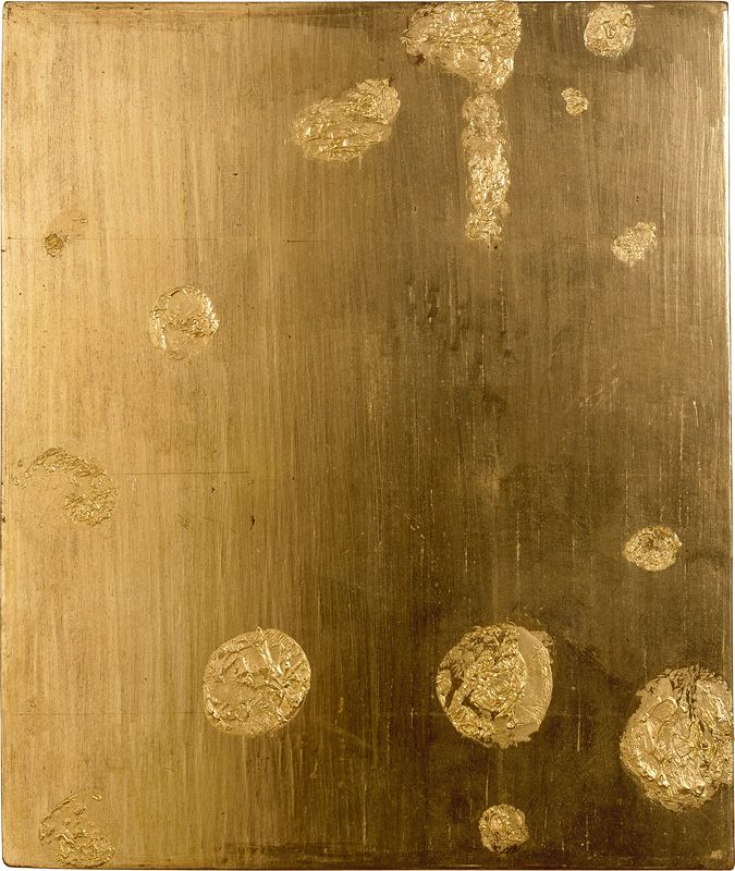 Yves Klein - Monogold Untitled, 1959 Art Experience NYC www.artexperiencenyc.com